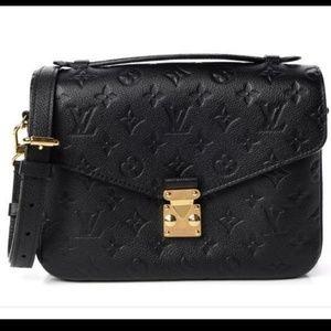 Brand New Louis Vuitton Pochette Metis Empreinte